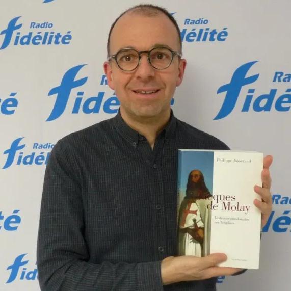 Podcast 🎧 Un livre, une histoire : Jacques de Molay, Le dernier grand-maître des Templiers de Philippe Josserand