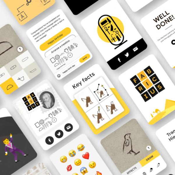 Google a créé une app qui peut décoder les hiéroglyphes