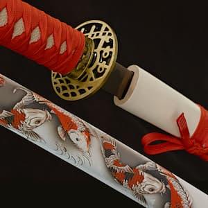 Kujaku (孔雀), katana de décoration